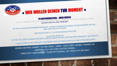 Artikelbild: Wettbewerb: Wir wollen Deinen TVH-Moment!