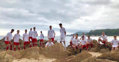Artikelbild: B-Junioren des TV Hoffnungsthal bei der Copa Costa Brava