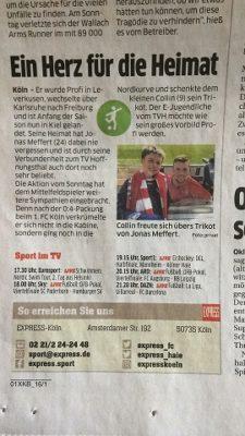 Artikelbild: TVH im Express